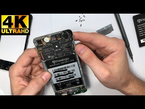 Prestigio MultiPhone 3531 Muze E3 - разборка, замена экрана / Disassembly, Screen Replacement