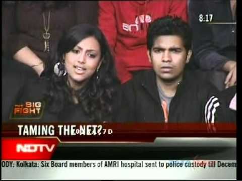 Ankit Fadia on NDTV Big Fight discussing Internet Censorship by Indian Government