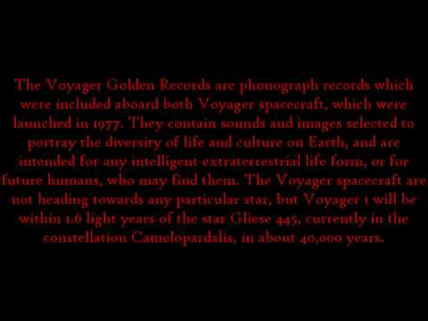 Voyager Golden Record Mp3