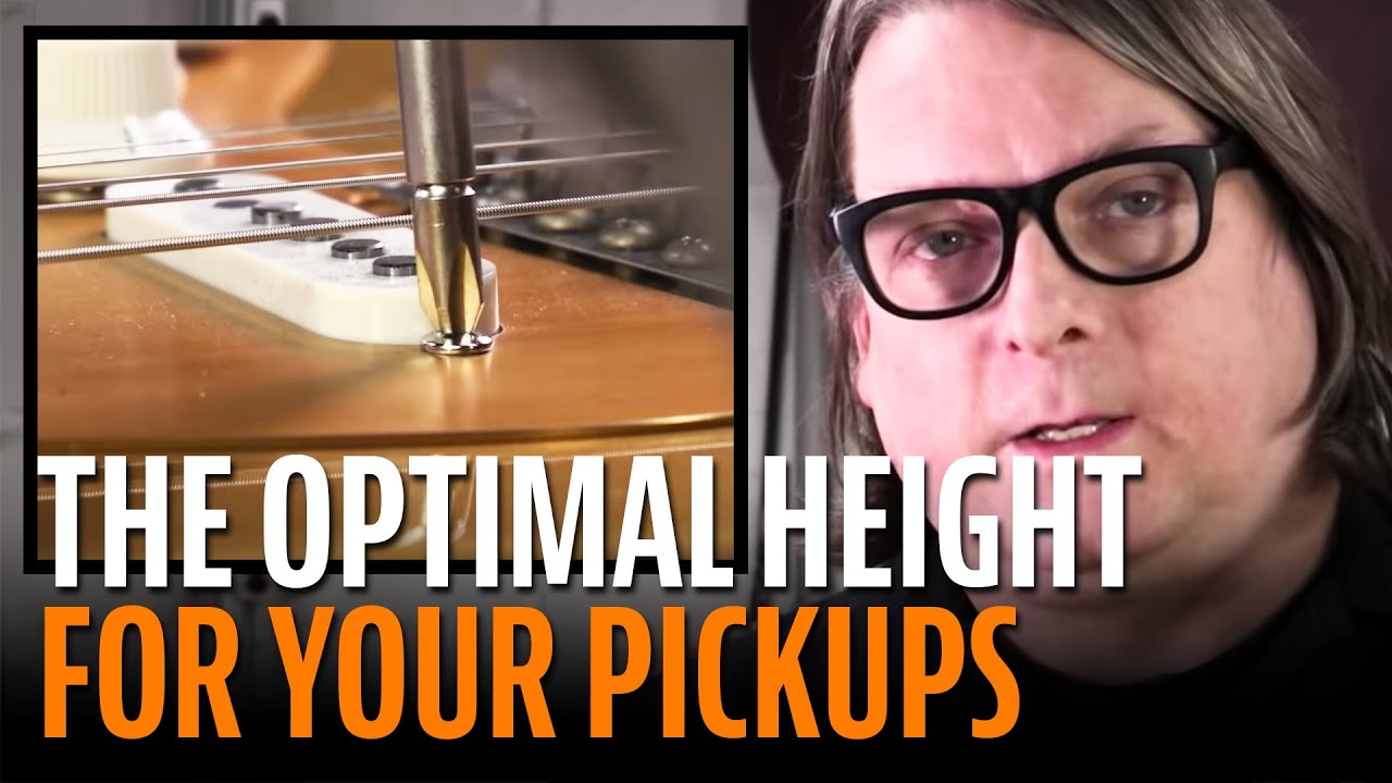 how to set the height of your guitar pickups for optimal tone youtube. Black Bedroom Furniture Sets. Home Design Ideas