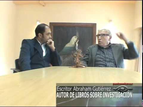 RECONOCIDO ESCRITOR ABRAHAM GUTIERREZ