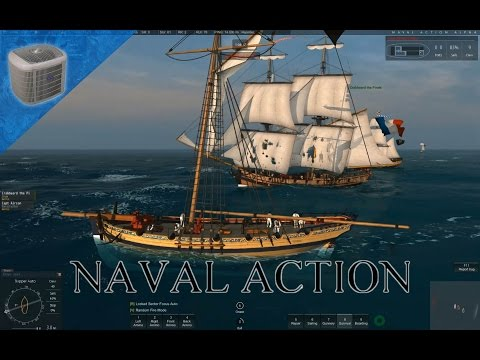 Naval Action (Early Access) Gameplay: Big Trading Ship Capture [Ep 3]