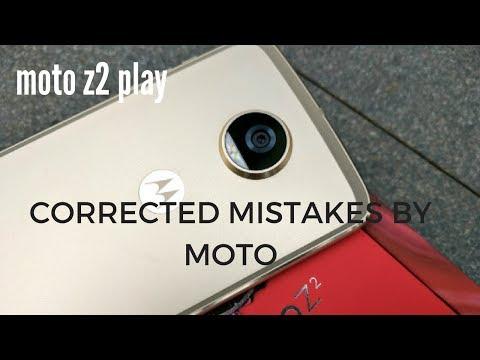 Moto z2 play vs moto z play