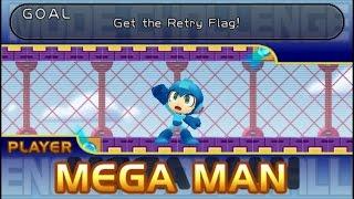 Mega Man Powered Up (1C): Mega Man - #1-10 [Challenge Mode]