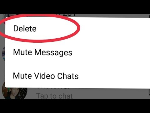 How to delete instagram messages Chat