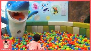 뽀로로 키즈 카페 모음 기차 자동차 어린이 놀이 시간 테마파크 ♡ 어린이 장난감 놀이 Indoor Playground Fun Play | 말이야와아이들 MariAndKids