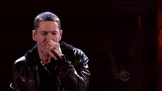 Love the way you lie , I need a doctor (Live) Full HD - Eminem ft Rihanna , Dr.Dre , Skylar