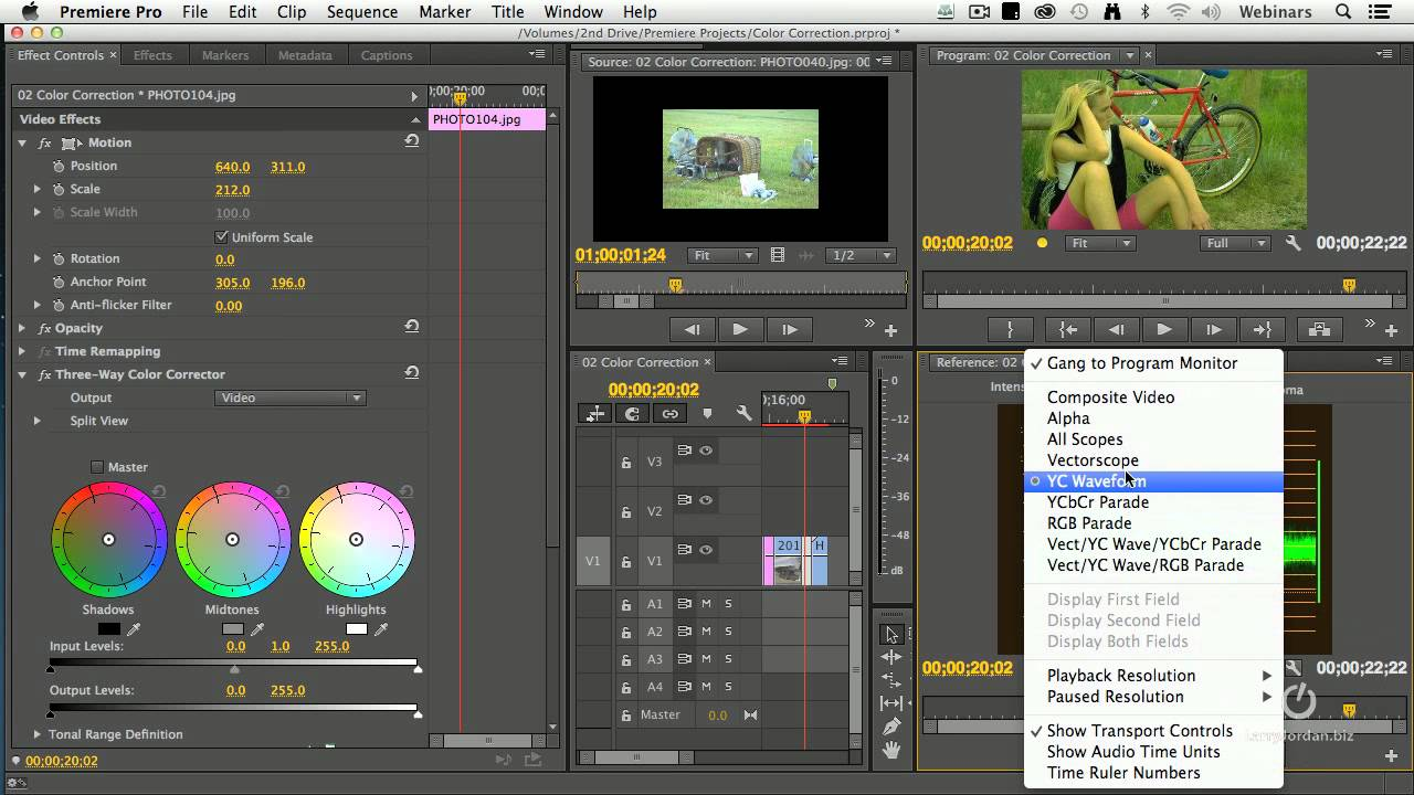 Premiere Pro News Notes #05 (Color Edition) by Rich Young