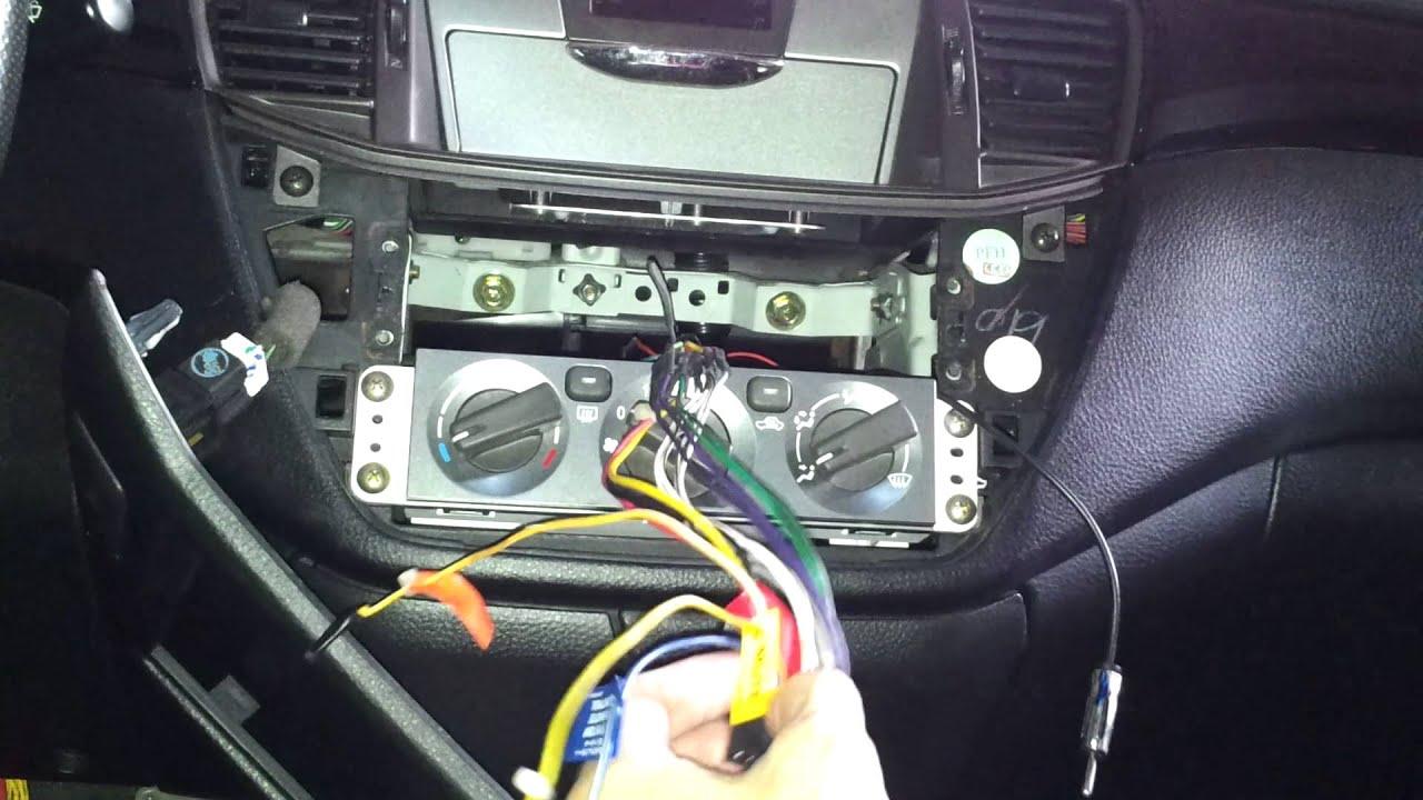 拆換汽車音響主機-1 - YouTube