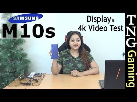 Samsung Galaxy M10s - 4K Video & Display Test