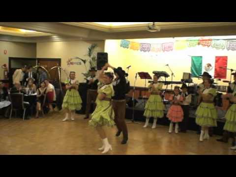 MEXICAN DANCE GROUP OF AUSTRALIA - Norteños, Cerro de la Silla