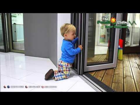 Child Friendly Bi-fold Doors from The Folding Sliding Door Company