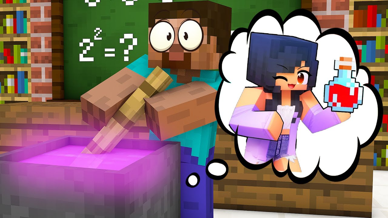 Monster School : BREWING APHMAU CHALLENGE - Minecraft Animation