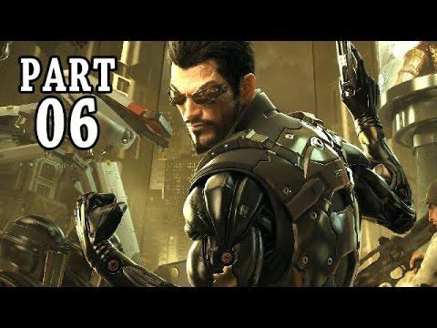 Let's Play Deus Ex Mankind Divided Gameplay German PS4 Deutsch #6 - Ende von Drahomir