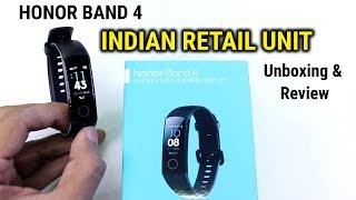 Honor Band 4 | INDIAN UNIT | Unboxing & Review