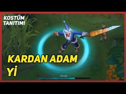 Kardan Adam Yi (Kostüm Tanıtımı) LoL PBE