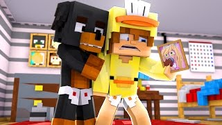 Minecraft - BABY DUCK IS LOVE SICK HE MISSES BABY LEAH - Little Club Baby Max Roleplay