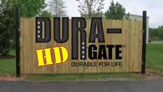 Dura-Gate HD Double Fence Gate Installation