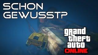 GTA 5 Online - 3 INTERESSANTE DINGE IN 3 MINUTEN #002 - GEHEIMER ORT: UNTERWASSERSTATION!
