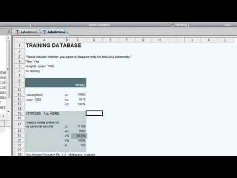 ASTEROID - Training - Part 04 - Working with Tables