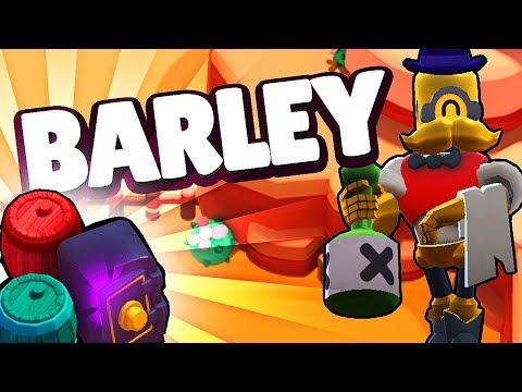 MOVIMIENTOS CON BARLEY EN HEIST | Brawl Stars