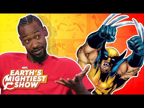 Terrence Ross tells us about his favorite Marvel heroes and villains! | Earth's Mightiest Show Bonus