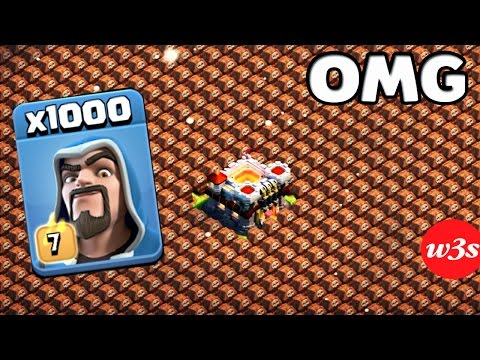 Thumbnail: 1000 Wizard VS 1000 Skeleton Trap Amyzing Attack GamePlay On COC Private Server