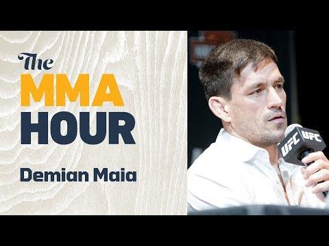 Demian Maia: Kamaru Usman 'Is Not Just Hype'