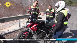 Motoru Orta Sephaya Alma - Motosiklet Sürüş Ve Eğitimleri - AGM Antalya Gezgin Motorcular 4 K UHD