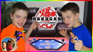 Bakugan Championship Tournament!  Family Bakugan Battle!