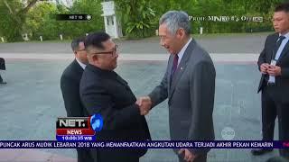 Download Video Donald Trump dan Kim Jong Un Tiba di Singapura - NET 10 MP3 3GP MP4