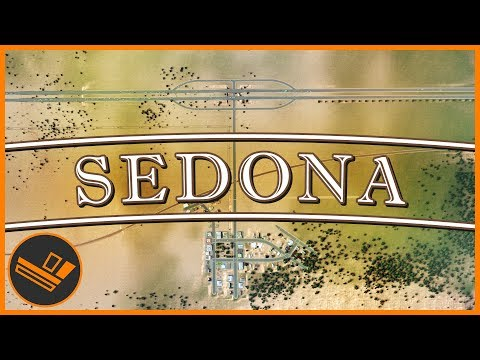 Sedona - Part 5 | TOWN SQUARE (Cities: Skylines)