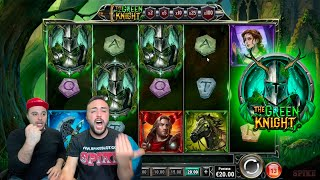 SLOT ONLINE - Scopriamo THE GREEN KNIGHT 🗡️ 🛡️ 🎰