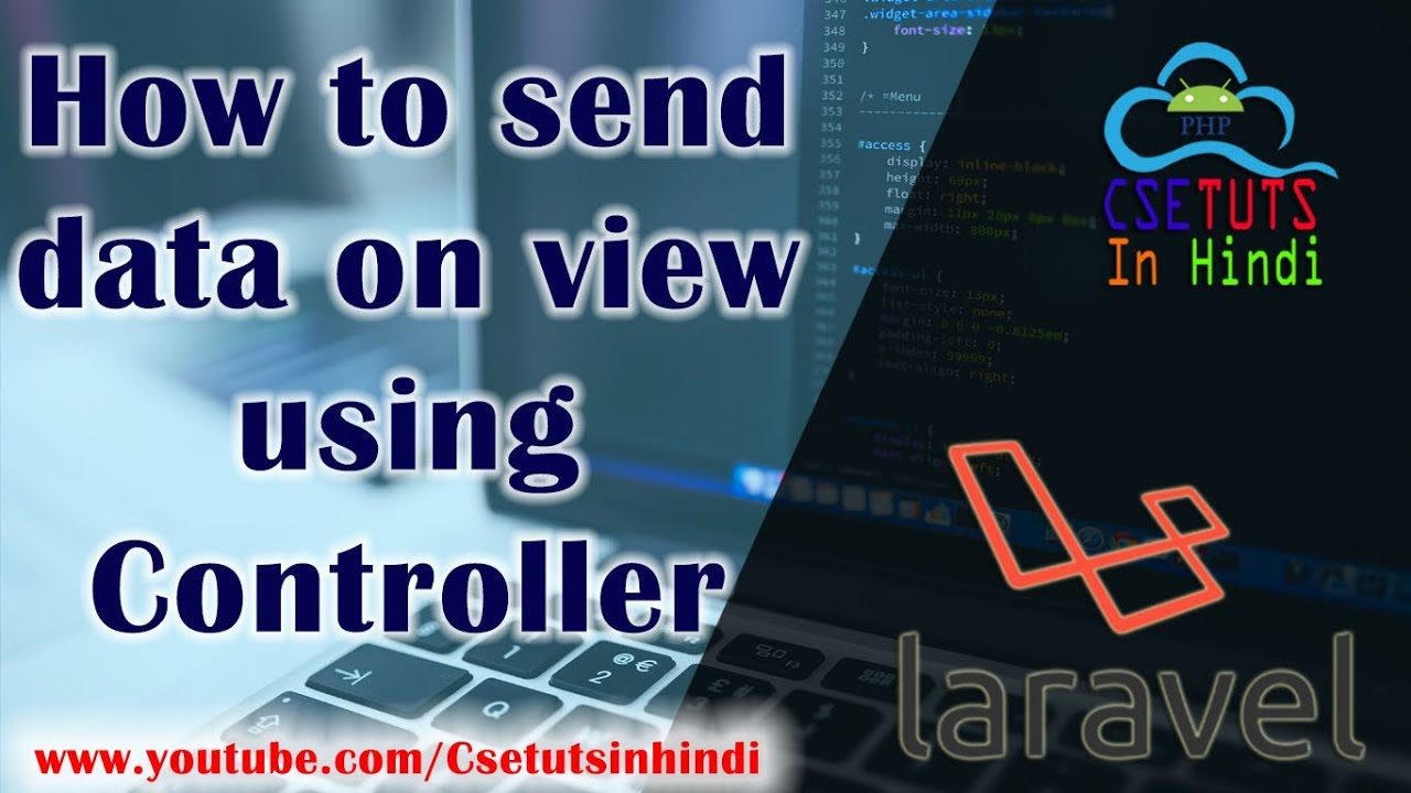 10 Laravel in Hindi : How to send data on view using Controller
