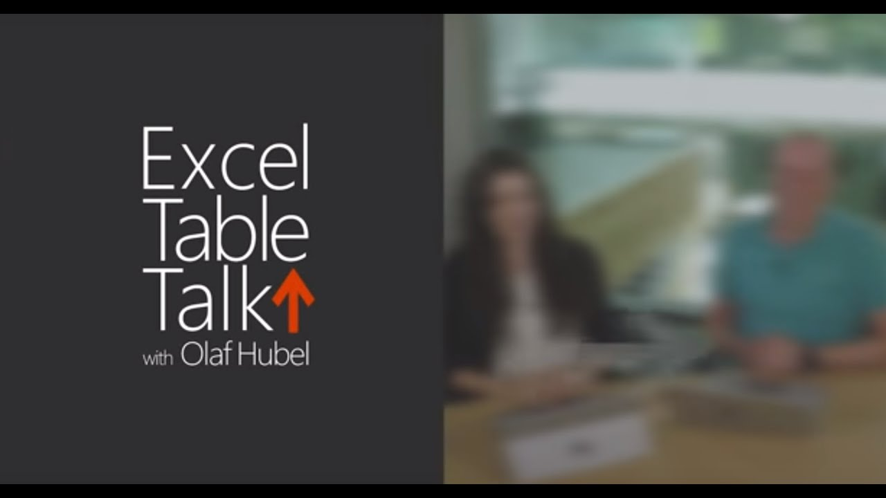 New charts in Excel - Episode 3 - Excel Table Talk