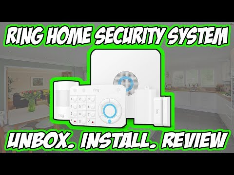 Ring Alarm Home Security System - Unboxing, Installation And Review