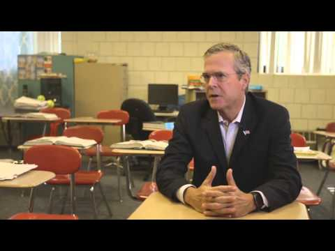 2015 New Hampshire Education Summit - Jeb Bush on School Choice