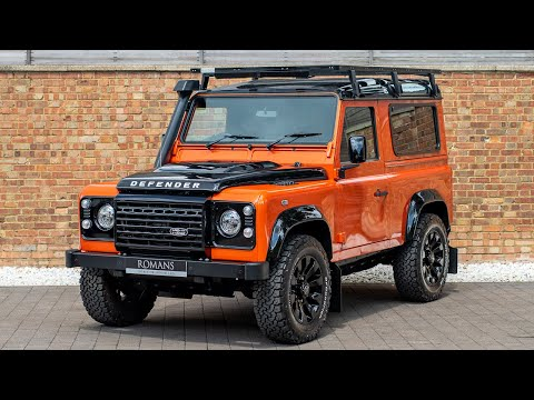 2016 Land Rover Defender 90 Adventure Edition - Pheonix Orange - Walkaround & Interior