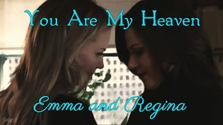 you are my heaven ♥︎ emma and regina