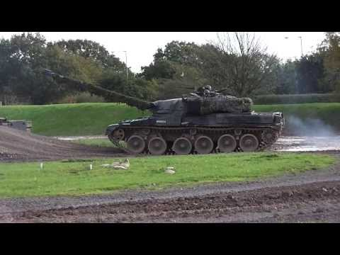 Challenger 2, Centurion And Chieftain Tanks At Bovington