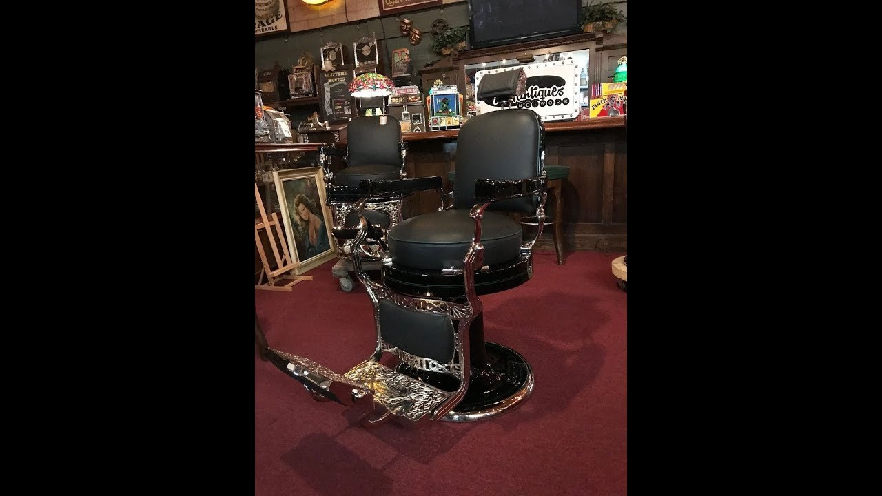 1920's Koken Fully Restored Barber Chair FOR SALE $7,250 - 1920's Koken Fully Restored Barber Chair FOR SALE $7,250 - YouTube