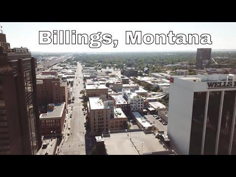 Drone Billings, Montana