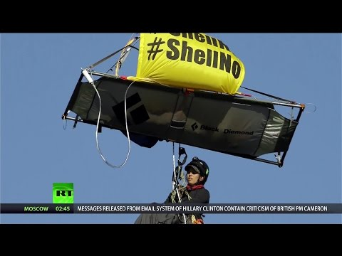 Greenpeace vs. Obama - Keep Shell Away From the Arctic!