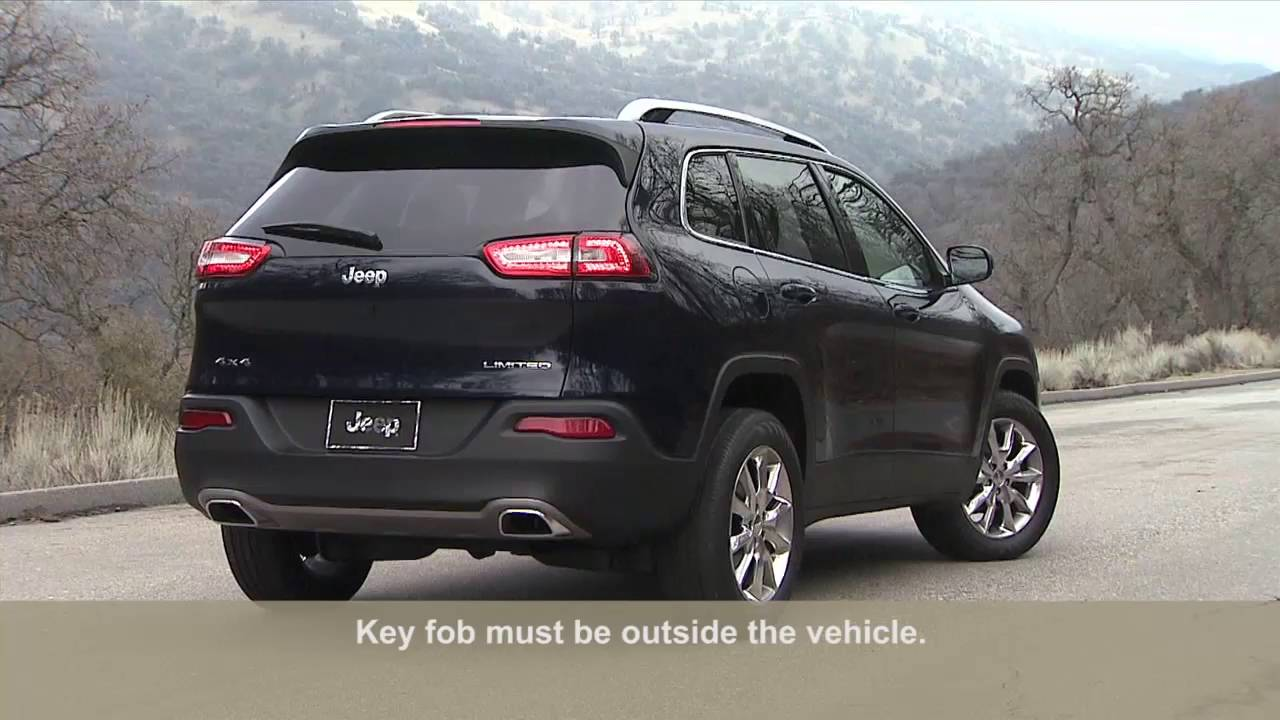 Keyless Enter-N-Go™-Key fob programming for power locks in 2017 Jeep  Cherokee