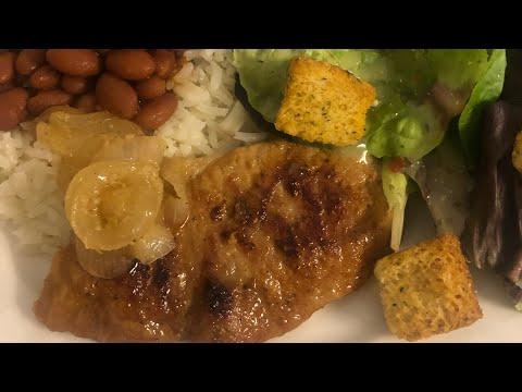 Pork Tenderloin And Rice!