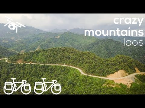 From Hanoi into the mountains - Bicycle Touring in Laos - The ONION Adventure