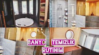 BANYO TEMiZLiK RUTiNiM // BAYO TURU (Bathroom Cleaning routine//Bathroom Tour)   #VLOG - 225