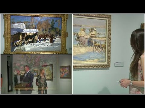 A museum of Russian impressionist art opens in Moscow