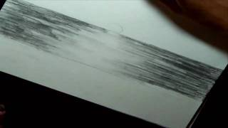 How To Draw A Landscape - The Ocean
