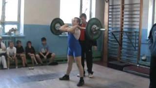 юношеские игры г.Кривой Рог тяжелая .атлетика 2009 г